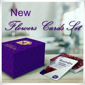 new flower cards set