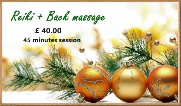 reiki and back massage