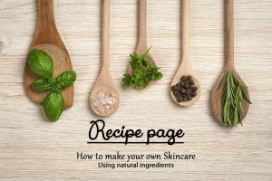 Aromatherapy recipe page