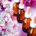 bottles of flower essence combination
