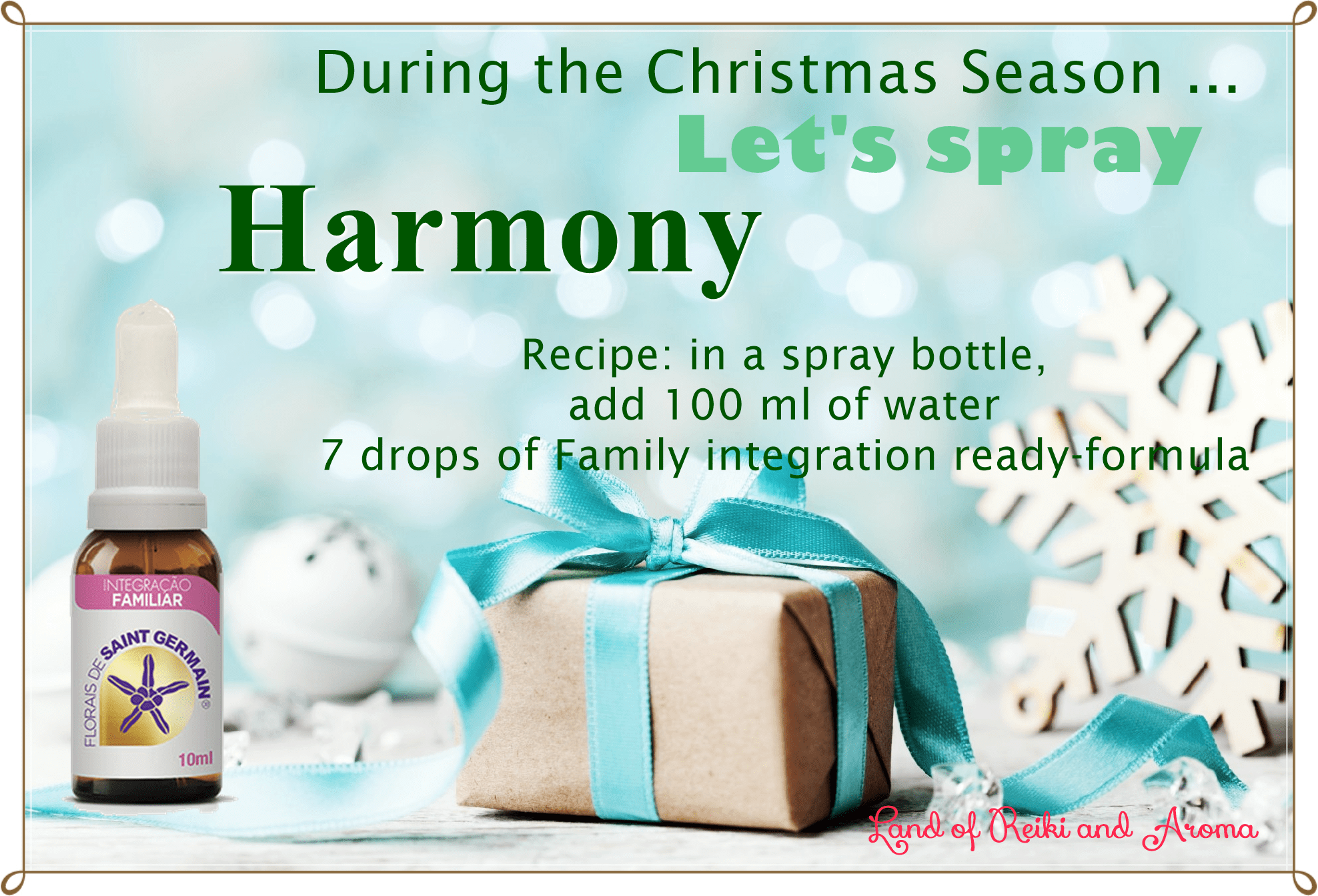 Lets spray harmony