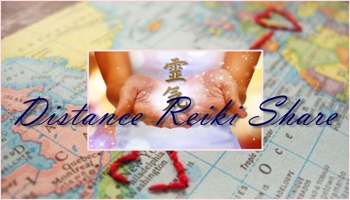 distance reiki share