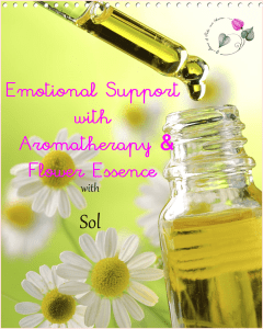 emotional support flower essence aromatherapy