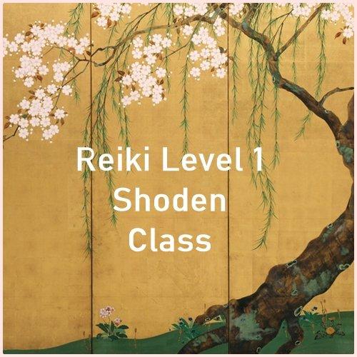 Reiki level 1 Shoden