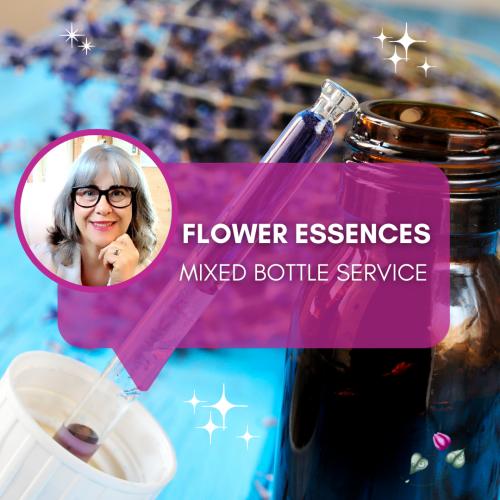 Flower-essence-mixed-bottle-service